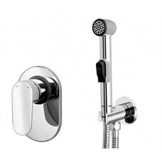 Гигиенический душ со смесителем скрытого монтажа Wasserkraft А11057