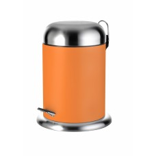 Ведро для мусора Ridder Rondo оранжевое (4 л) 22030614