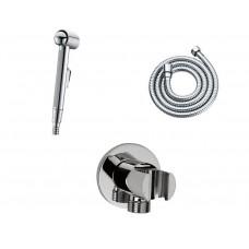 Гигиенический душ лейка со шлангом и держателем гарнитур Wasserkraft A043056022