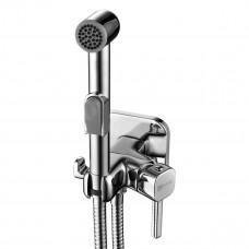 Гигиенический душ со встраиваемым смесителем Lemark Solo LM7165C