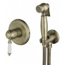 Гигиенический душ со встроенным смесителем LeMark VILLA LM4819B бронза