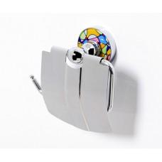 Держатель для туалетной бумаги с крышкой Wasserkraft Diemel K-2225