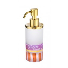 Диспенсер для жидкого мыла мини Windisch Deco 90458MO золото