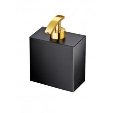 Диспенсер для жидкого мыла Windisсh Black 90702NO черный, золото