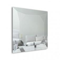 Зеркало в геометрической раме Dubiel Vitrum Diamante Silver (90х90) УТ000001299
