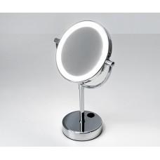 Зеркало косметическое настольное с LED-подсветкой двухстороннее Wasserkraft K-1005