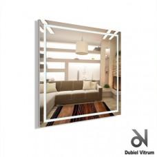 Зеркало с led-подсветкой Dubiel Vitrum Volano (65,5х65,5) УТ000000979