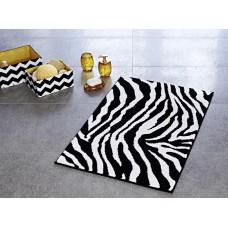 Коврик для ванной комнаты Ridder Zebra черно-белый (55х50) 711800