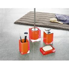Набор аксессуаров для ванной Ridder Colours S22280514 оранжевый