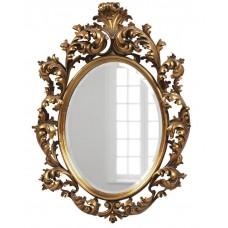 Зеркало в раме овал LouvreHome Овьедо золото LH205G