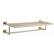 Полка для полотенец 60 см золотая GUS 752710