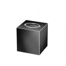 Салфетница настольная квадратная черная хром Windisch Black 87704NCR