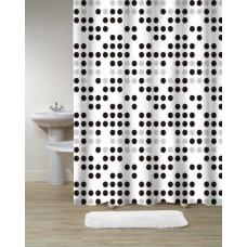 Шторка для ванной Dots DR-18592