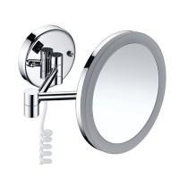 Зеркало косметическое с подсветкой настенное Wasserkraft K-1004 (3х)