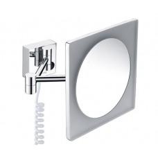 Зеркало косметическое с подсветкой в ванную комнату Wasserkraft K-1008 (3х)