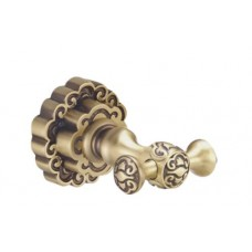 Крючок двойной Bronze de luxe К25205 бронза