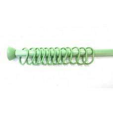 Штанга для шторки стальная M-05805 зеленая