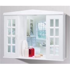 Шкафчик с зеркалом в ванную комнату настенный Primanova M-08200