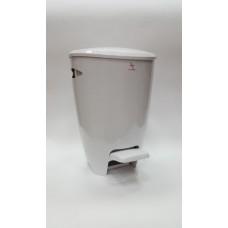 Ведро для мусора FELY Primanova (5 л) M-E04-01 белое