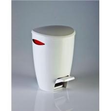 Ведро для мусора FELY Primanova (5 л) M-E04-04 красное