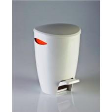 Ведро для мусора FELY Primanova (5 л) M-E04-08 оранжевое