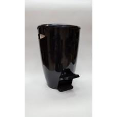 Ведро для мусора FELY Primanova (5 л) M-E04-21 черное