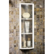Шкафчик угловой с тремя вращающимися полками Stack M-S01-16 прозрачный