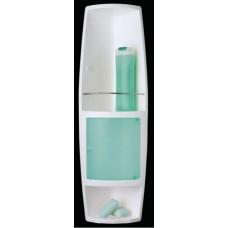 Угловой шкафчик для ванной Stack M-S04-24 зеленый