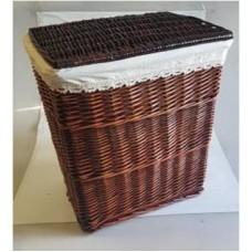 Корзина для белья плетеная коричневая №1 XL13B-0769B S/8