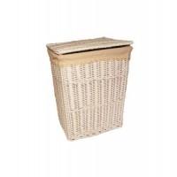 Корзина для белья плетеная белая №2 XL13B-0769W S/8