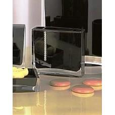 Стакан для зубных щёток Roma D-14712 черный