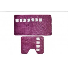 Коврик для ванной и туалета Roma (фиолетовый) D-15242