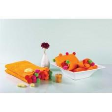 Полотенце Nora оранжевое D-15108 (50x90)
