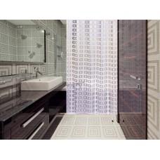 Штора для ванной 180*200 см. PRIMANOVA D-18010 Ring