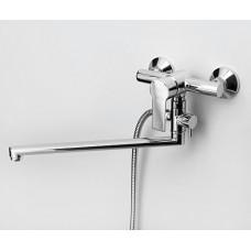 Смеситель для ванны с длинным изливом WasserKRAFT Ammer 3702L