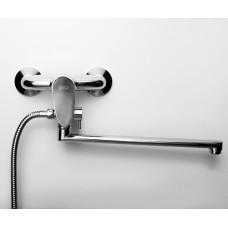Смеситель для ванны с длинным изливом WasserKRAFT Leine 3502L