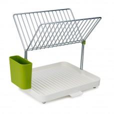 Сушилка для посуды и столовых приборов 2-уровневая со сливом Y-rack Joseph Joseph 85083