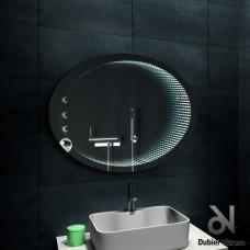 Зеркало Dubiel Vitrum ВЕНЕЦИЯ 70x90 с внутренней подсветкой УТ000001408