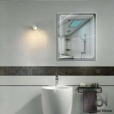 Зеркало Dubiel Vitrum ВЕНЕЦИЯ 79x65 с внутренней подсветкой УТ000000878