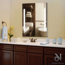 Зеркало Dubiel Vitrum КАМПО-PS 80x60 с внутренней подсветкой УТ000000980